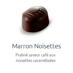 Marron noisettes Leonidas